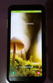 Celular Samsung A8 Com Biometria E Foto Em Baixo D