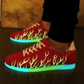 Tênis Fluorescente Relâmpago Super Lançamento!