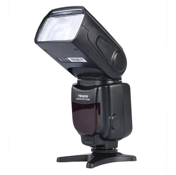 Flash Universal Triopo Tr-950 Para Cameras Dslr Canon Nikon