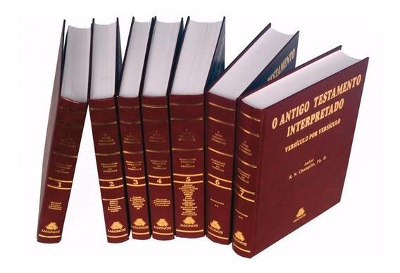 Velho Testameno Interpretado Versículo Por Versículo Champli