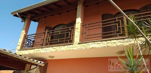 Imagem 1 de 15 de Sobrado Para Venda Em Mogi Das Cruzes, Vila Lavínia, 3 Dormitórios, 1 Suíte, 4 Banheiros, 3 Vagas - 3467_1-1418350