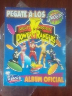 Colección Completa 68 Tazos Power Rangers Mas Extras