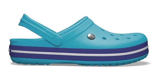 Crocs Crocband Originales Pool Navy Turquesa