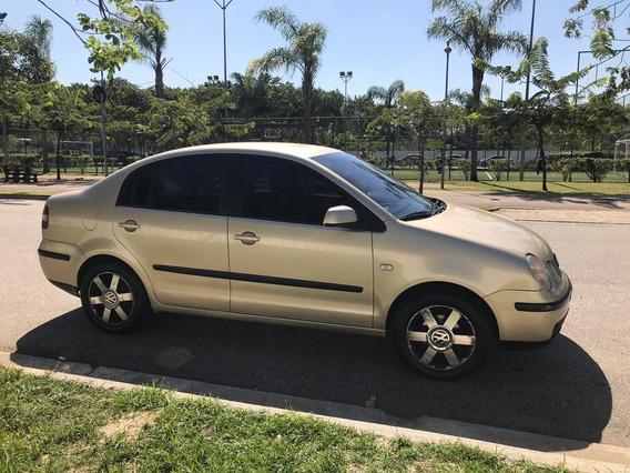 Polo Sedan 2005 - 1.6 Totalflex + Gnv
