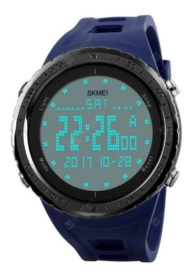 Relógio Masculino Skmei 1246 Digital Azul Marinho