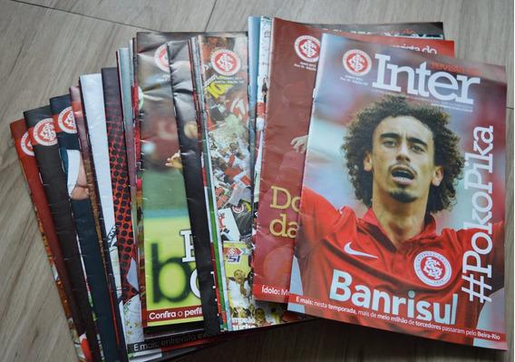 Revista Do Inter - Pacote Com 10 Revistas