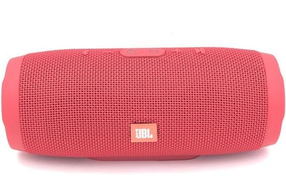 Caixa Acústica Jbl Charge 3 Bluetooth Prova D`água + Maleta