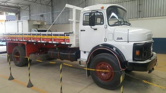 Mb 1318 1989 Toco Turbo, Reduzida, Freio A Ar, Facilito Pgto