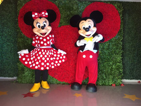 Renta De Increíbles Botargas Mickey, Minnie, Minion Y Olaf