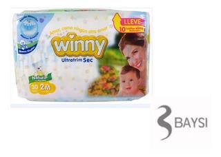 Oferta Pañal Winny Sec Etapa 2 Paquete X 30 Unidades Gratis
