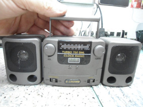 Micro Rádio Crown Turbo 750sml