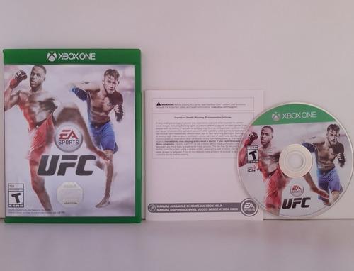 Ufc Xbox One Mídia Física Pronta Entrega