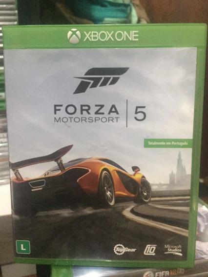 Jogo Forza Motorsport 5, Xbox One, Midia Física, Usado