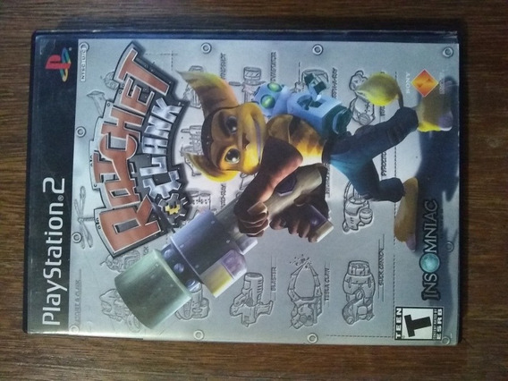 Jogo Ratchet Clank Original Para Playstation 2