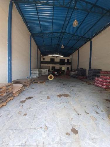 Imagem 1 de 11 de Galpão Para Alugar, 250 M² Por R$ 7.000/mês - Vila Das Palmeiras - Guarulhos/sp - Ga0066