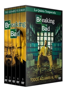 Breaking Bad + Pelicula, Dvd,latino