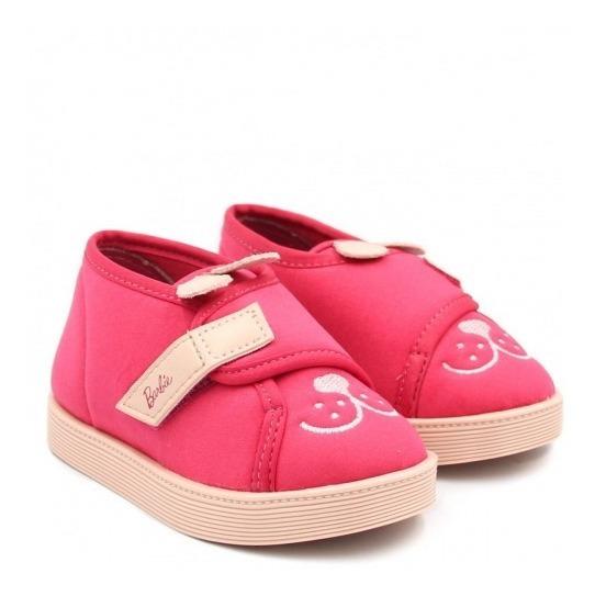 Tênis Infantil Barbie Fashion Pet 21779 Rosa