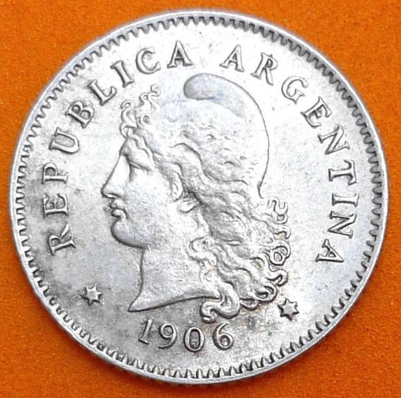 Argentina Moneda 10 Centavos 1906 ¡¡¡ Au-unc !!!