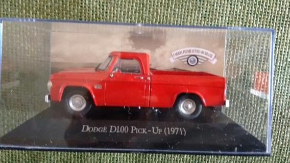 Miniatura Dodge D100 - 1:43 - (customizada)