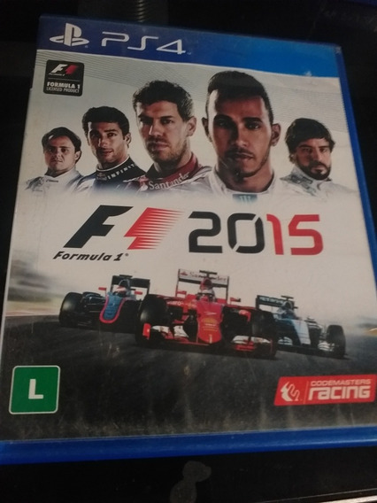F1 2015 Ps4 Mídia Física