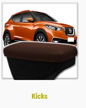 Apoyabrazo  Nissan Kicks Consola Organizador Cuero Natural