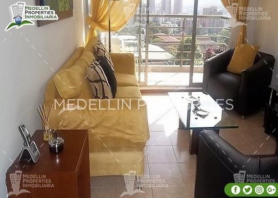 Arrendamientos De Apartamentos Baratos En Medellín Cód: 4372