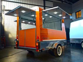 Food Truck Trailer Gastronómico Para Eventos Patentable