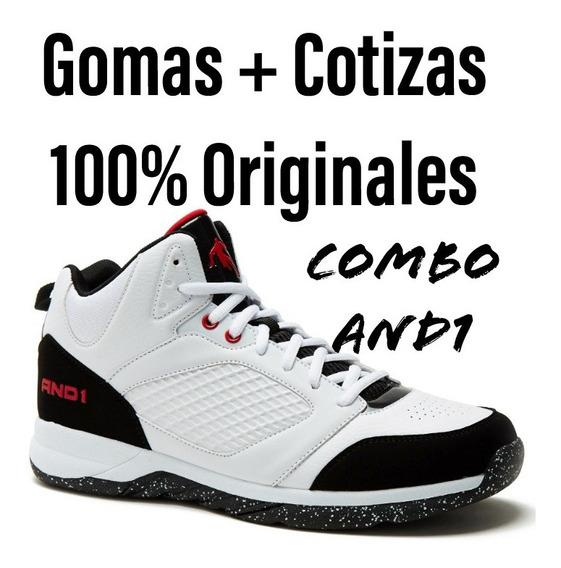 Combos Zapatos Gomas And1 Capital + Cotizas 100% Originales