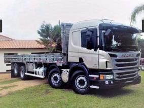 Scania P310 8x2 Carroceria 2014 - Unico Dono