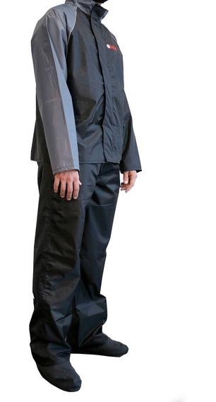 Traje Impermeable Yamaha Unisex Negro-gris