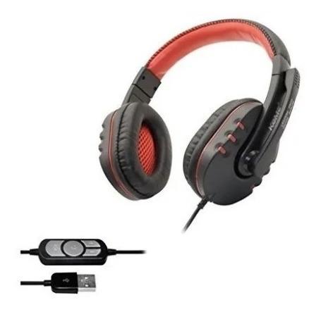 Diadema Gamer Microfono Profesional Cancelacion Ruido Usb2.0