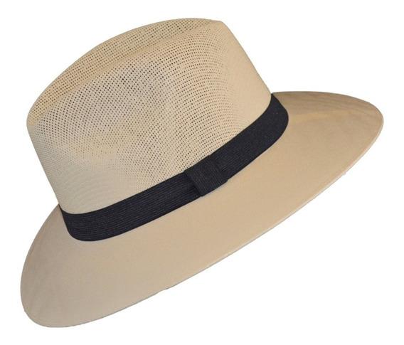 Lote 3 Sombreros Unisex Explorer Fresco Tipo Panama