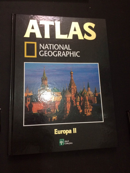 Atlas National Geographic Europa 2