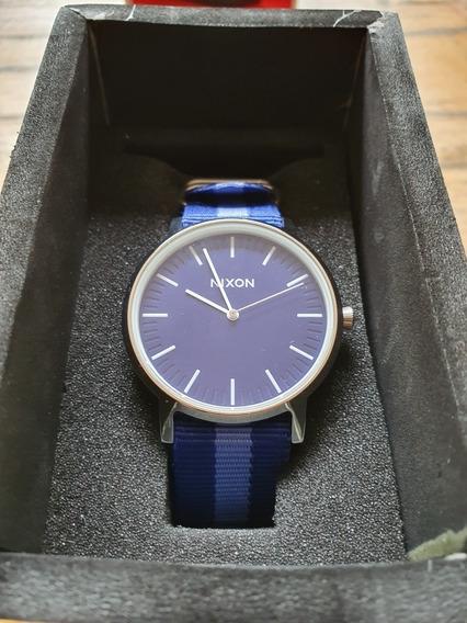 Relógio Nixon Porter Nylon Azul