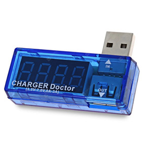 Testador Digital Para Porta Usb Teste Voltagem E Amperagem