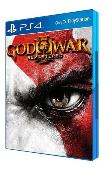 God Of War 3 Para Ps4 Mídia Fisica Blu-ray Original Lacrado