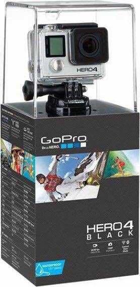 Camera Gopro Hero 4 Black Editon + Acessorios
