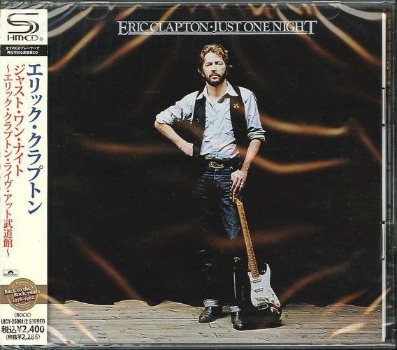 Eric Clapton: Just One Night - 2 Cd Mini Lp Japones Shm-cd