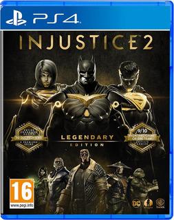 Injustice 2 Edicion Legendaria Ps4 / Playstation 4