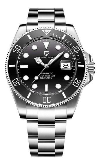 Reloj Pagani Design Pd-1639 Automatico(seiko) Zafiro Diver