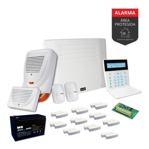 Alarma Para Casa O Comercio Sensor Magnético Kit - Cableado