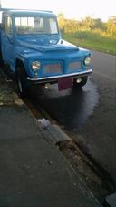 Caminhonete Ford Willis Azul Ano 69 Em Bom Estado