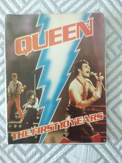 Livro Revista Queen The First 10 Years