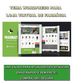 91814aab9c42ed Template Farmácia Virtual - Tema Wordpress Responsivo