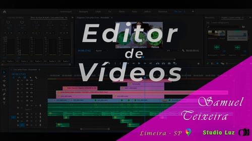 Edição De Vídeo, Videomaker, Produção E Gravação