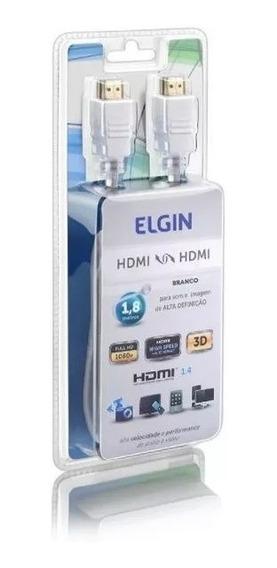 Cabo Hdmi Branco 1,8 Metros - Elgin