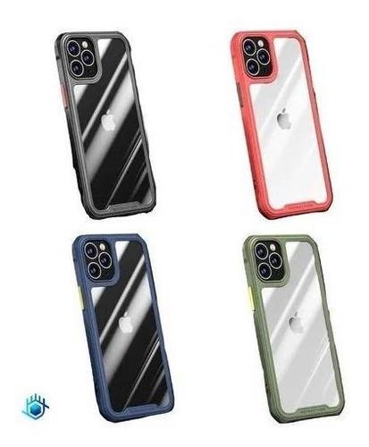 Funda iPhone Rigido Protector 360 Acrigel Hombre Mujer Case