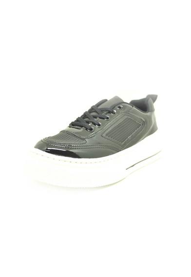 Sapatos Femininos Tenis Casual Verniz Preto Dani K