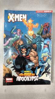 Marvel Ómnibus X-men Era De Apocalipsis Español Vol. 3 Comic