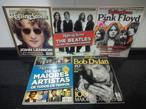 Lote 5 Revista Rolling Stone Especial Madonna + Brinde Rjhm